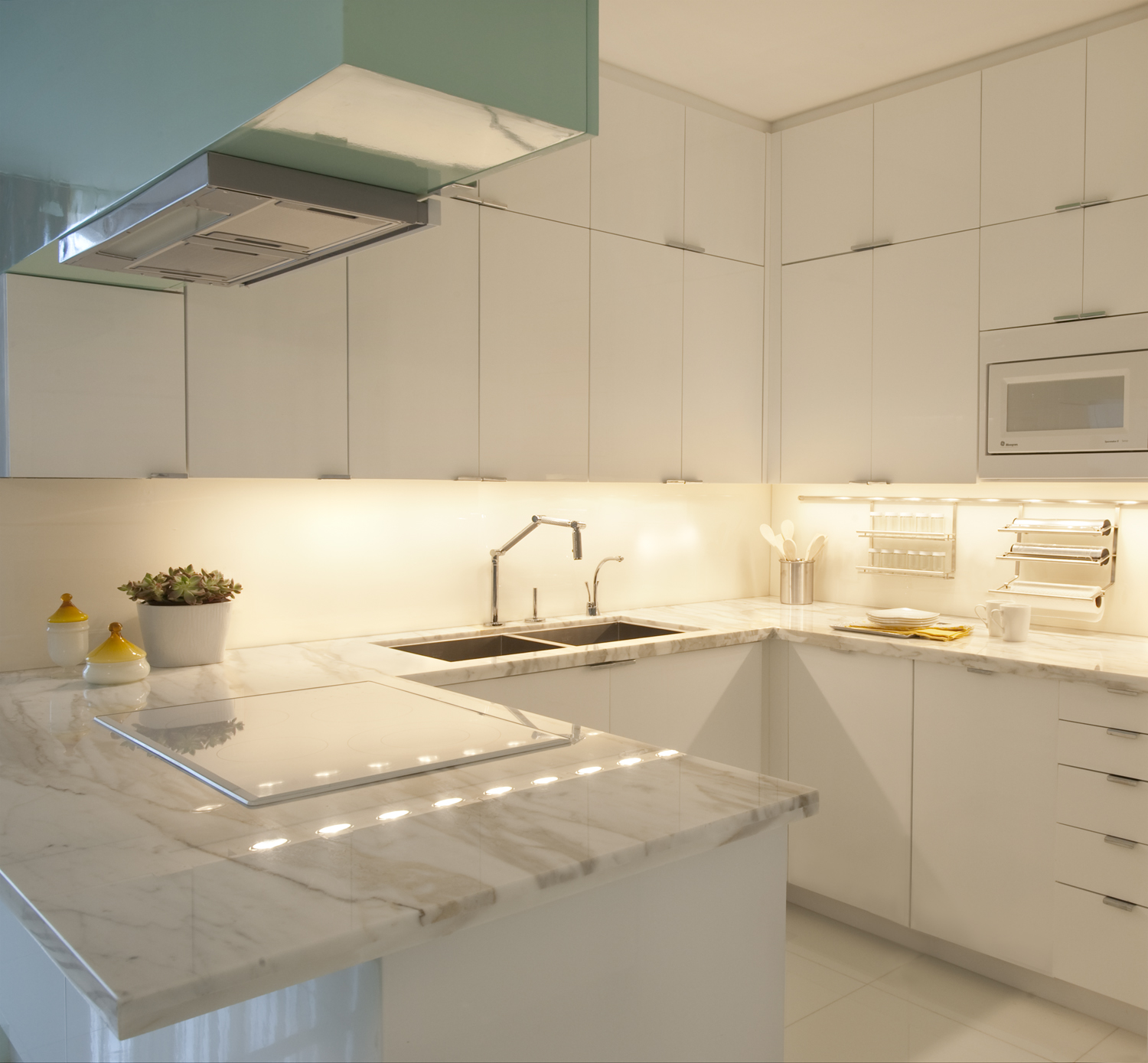 Apartment Kitchen Renovation Miami Beach Apartment Avram Rusu Studio